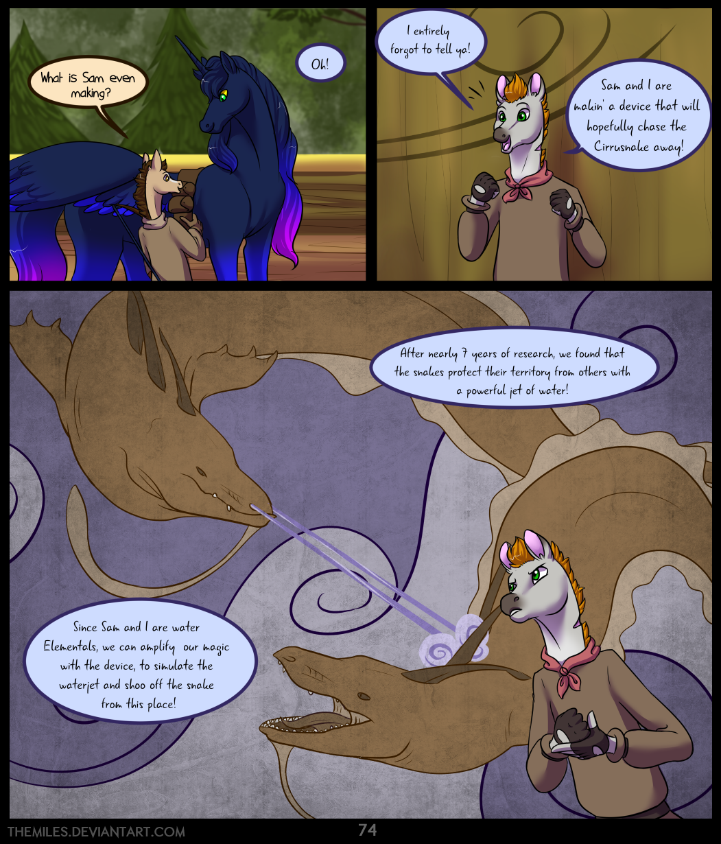 Tales of Aer - First Tale, Page 74