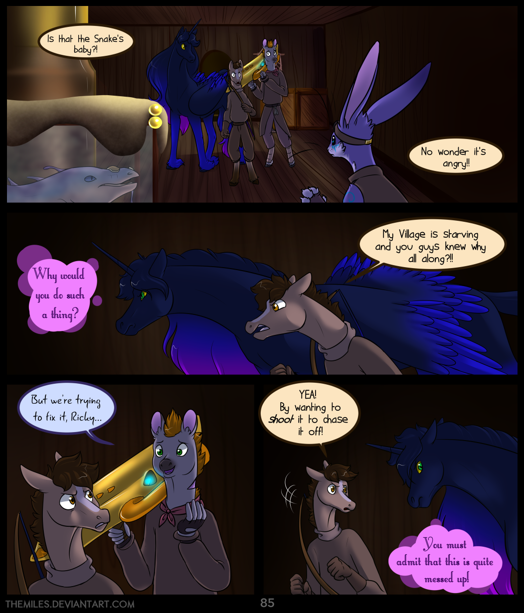 Tales of Aer - First Tale, Page 85