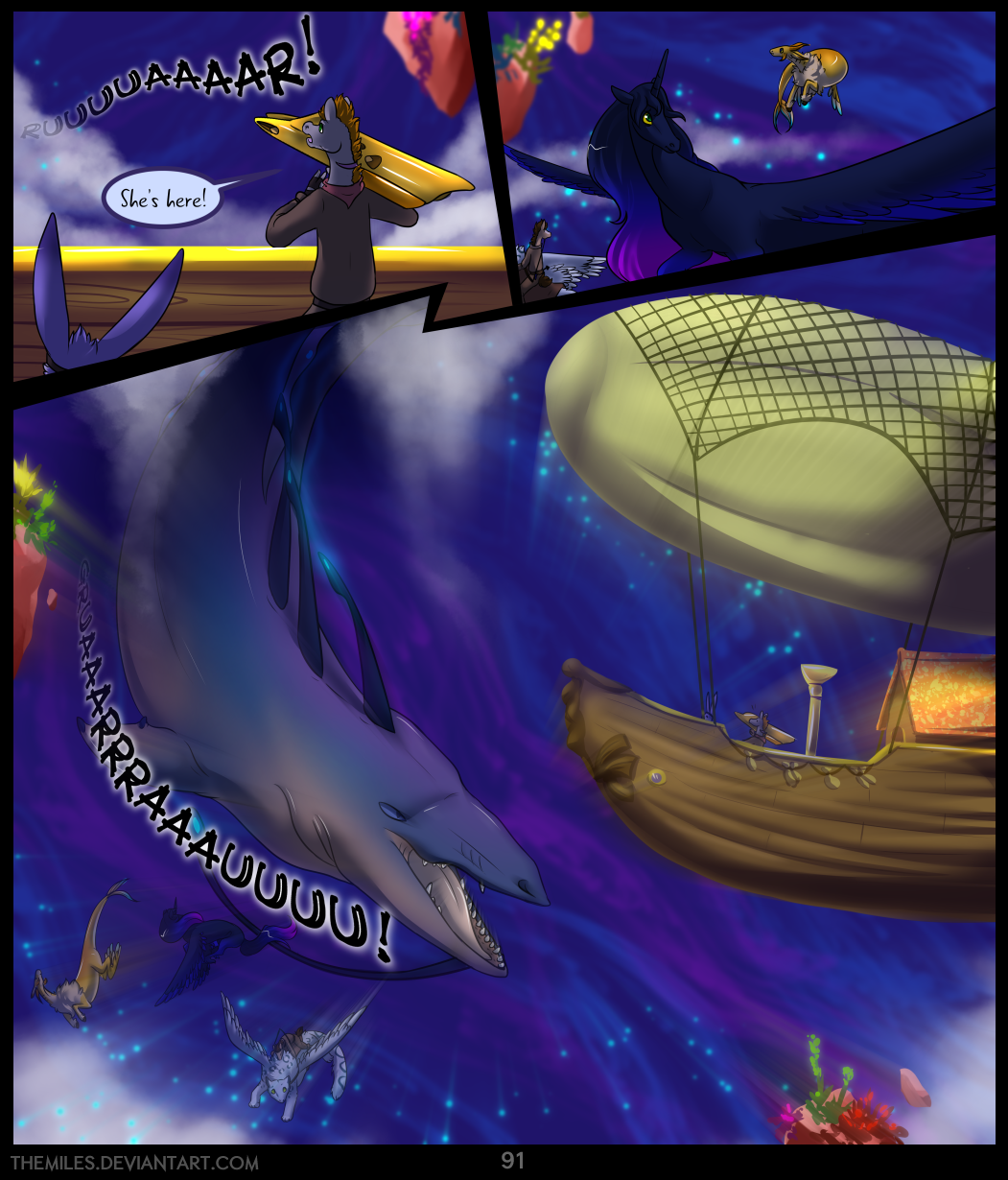 Tales of Aer - First Tale, Page 91