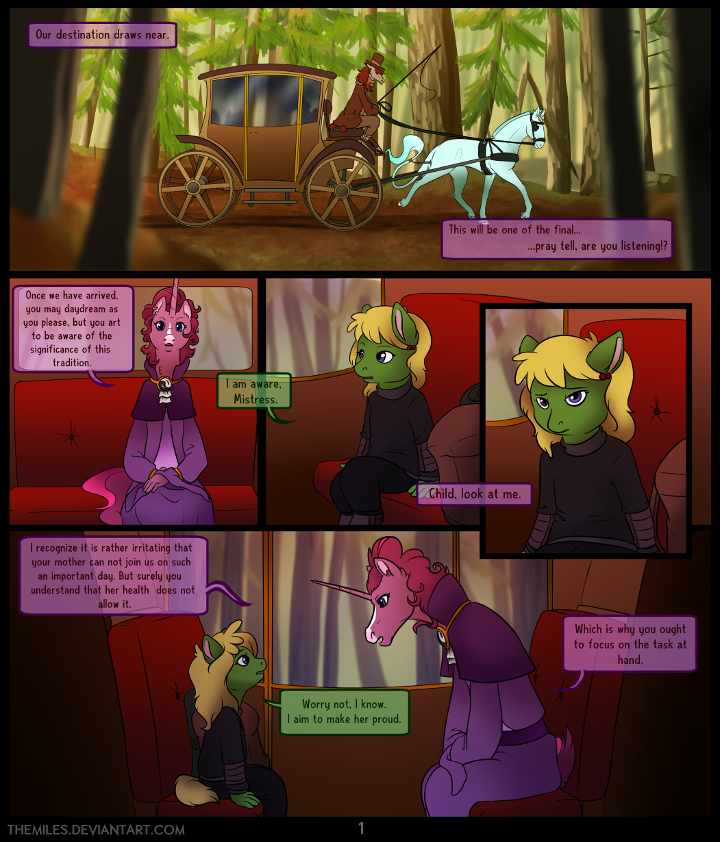 Tales of Aer - Second Tale, Page 1